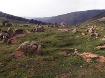 Estación megalítica en Azpegi