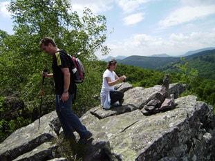 Cima del monte Aezkoargain
