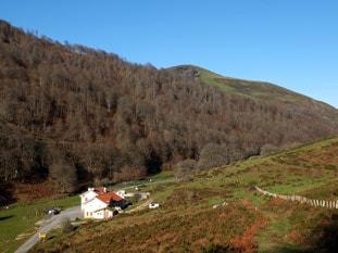 Entorno de Sorogain desde el Sendero local Sorogain-Espinal
