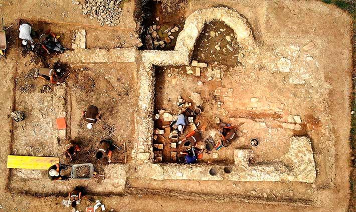 yacimiento romano artzi (j. etxegoien)