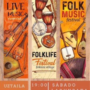 concierto folk